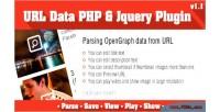 Data url plugin jquery php