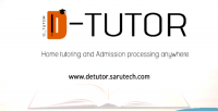 De tutor private tutoring processing admission and