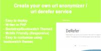 Dereferer website system