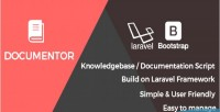 Documentor easy doumentation knowledge script php base