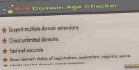 Domain bulk age checker