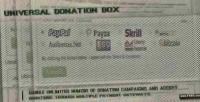 Donation universal box