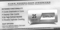 Download ajax counter