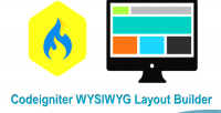 Drag codeigniter drop builder layout wysiwyg