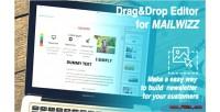Drop drag editor ema mailwizz for