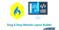 Drop drag wysiwyg cms layout builder website