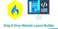 Drop drag wysiwyg cms layout builder website