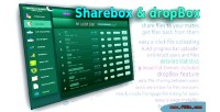 Dropbox sharebox file sharing