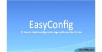 Dynamically easyconfig pages config create