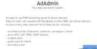 Easy adadmin adv server