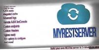 Easy myrestserver rest server