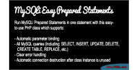Easy mysqli prepared statements