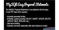 Easy mysqli prepared statements