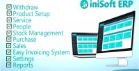 Erp inisoft business inventory system management