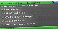 Error advanced logging