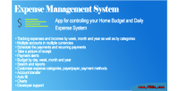 Expense daily management system