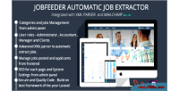 Feeder job extractor job automatic