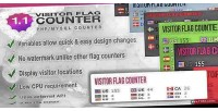 Flag visitor counter