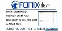 Fonix pbn private blog script monitor network
