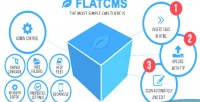 For flatcms static websites