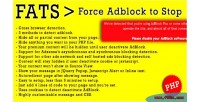Force fats stop to adblock