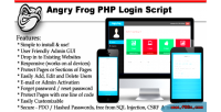 Frog angry script login php