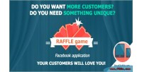 Game raffle promotional app fb customizable