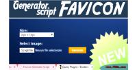 Generator favicon script