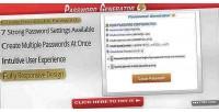 Generator password