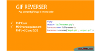 Gifreverser play animated gif order reverse in