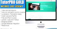 Gold tutorpro edition