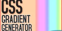 Gradient css generator