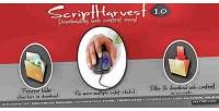 Harvest script images downloader script and