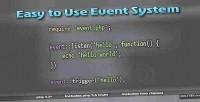 Hook event class