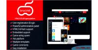 Html5 slimargame platform game flash