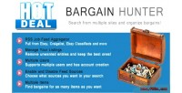 Hunter bargain bargain aggregator rss sites