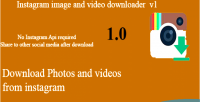 Instagram images & videos hashtag with downloader instagram