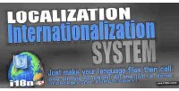 Internationalization localization l10n i18n system