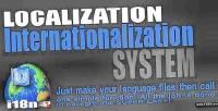 Internationalization localization l10n i18n system