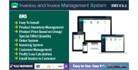 Inventory & invoice management iims system