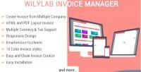 Invoice wilylab