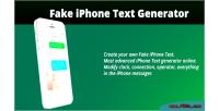 Iphone fake text generator