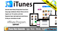 Itunes affiliate apps music store chart movies