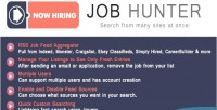 Job hunter multiple rss aggregator feed job