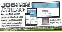 Job instant aggregator engine search
