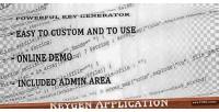 Keygen php application