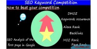 Keyword seo competition
