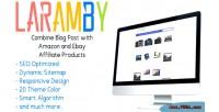 Laramby amazon & ebay script php affiliate
