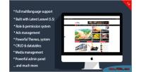 Laravel laramag system multilingual magazine