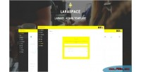 Laravel laraspace admin template